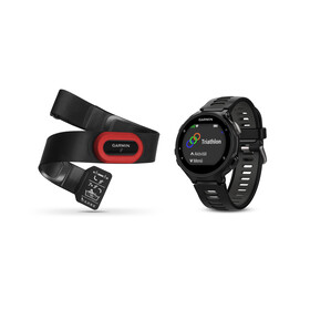 Garmin Forerunner 735XT - sangle de poitrine Premium HRM-Run incluse noir